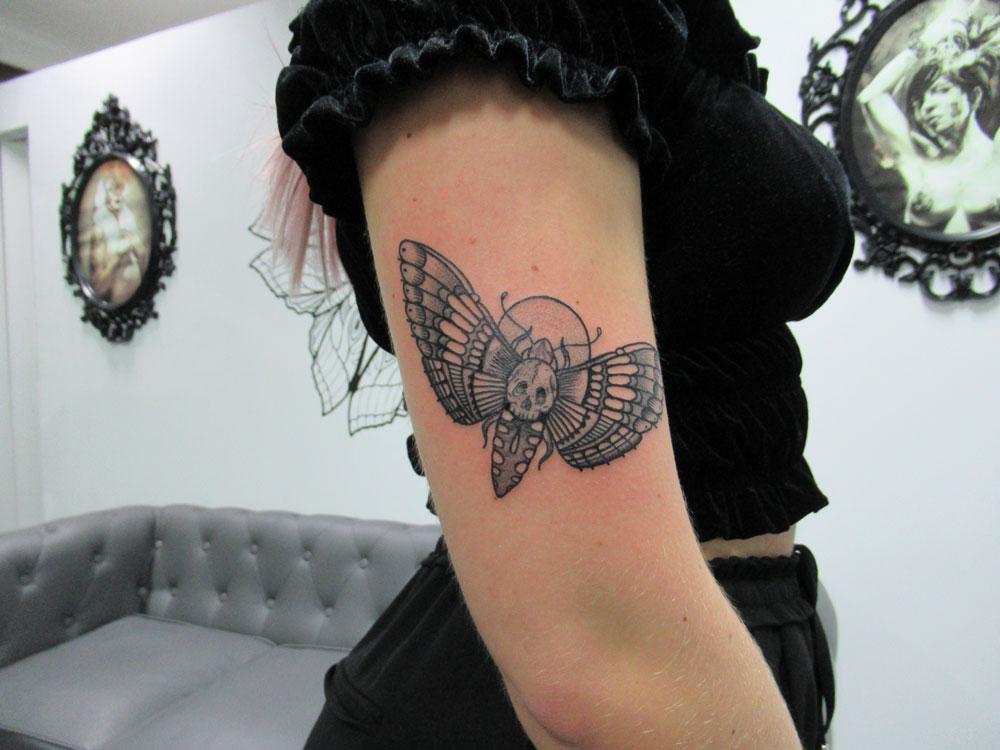 Polilla De La Muerte Archivos Tattoo Me Fuengirola Tatuajes