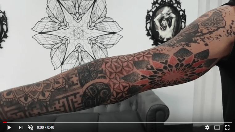 Tatuaje Geométrico En Brazo Tattoo Me Fuengirola Tatuajes