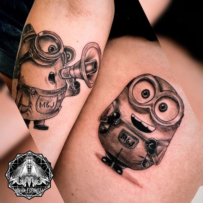 Tatuaje minions