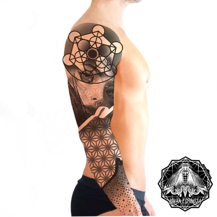 tatuaje-geometrico-brazo